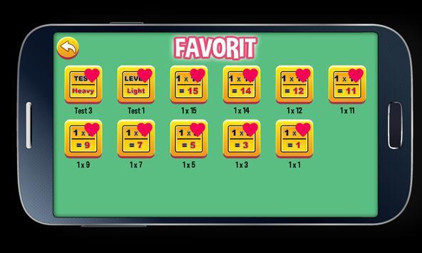 Multiplication Tables screenshot 5