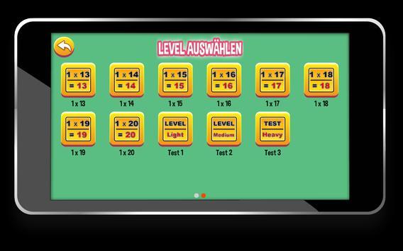 Multiplication Tables screenshot 6