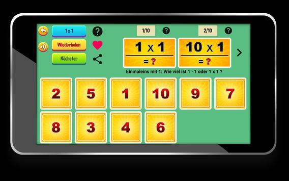 Multiplication Tables screenshot 7