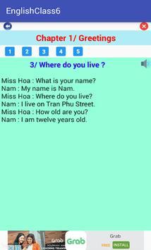 English Class 6 screenshot 1