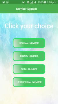 Number System poster