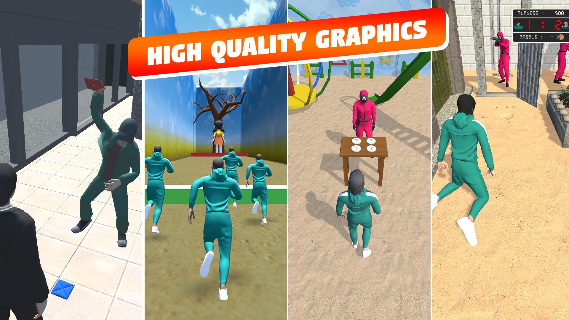Squid Game 3D Mod Apk 0.8 2