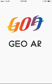 GOA Geo AR poster