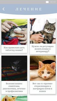 Забота о кошках screenshot 2