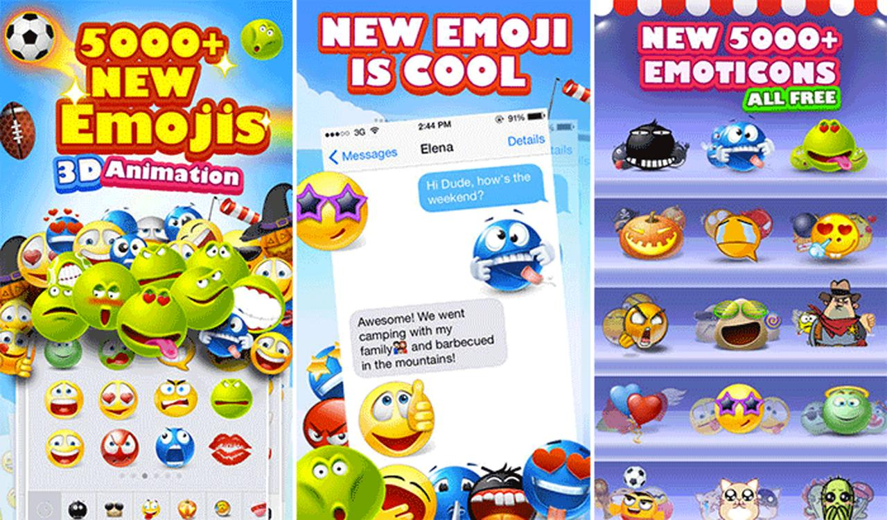 Animated Smileys Talking Stickers for Messengers for Android
