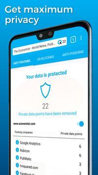 Cliqz – the Privacy Browser screenshot 1