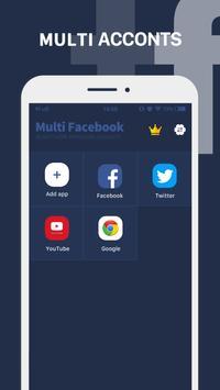 Parallel App - dual space&multiple accounts clone poster