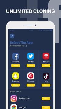 Parallel App - dual space&multiple accounts clone screenshot 3