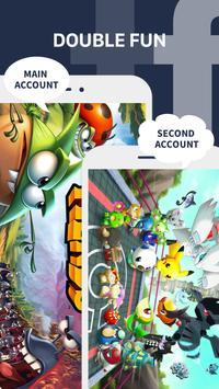 Parallel App - dual space&multiple accounts clone screenshot 2