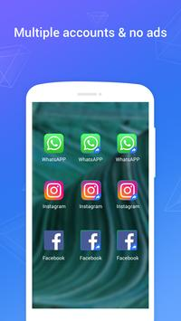 Clone App - App Cloner & Parallel Space screenshot 1