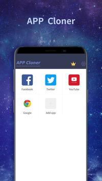 Appcloner-clone app & double or multiple accounts poster