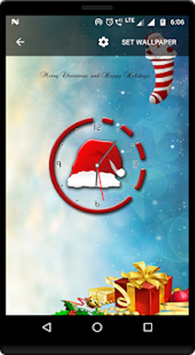 ... Christmas countdown clock live wallpaper screenshot 4 ...