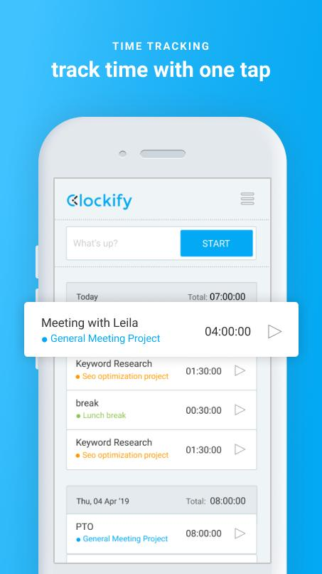 Clockify for Android - APK Download