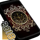 Gold Clock 2019 icon