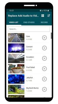 Replace Add Audio to Video Screenshot 1