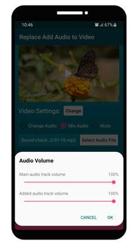 Replace Add Audio to Video screenshot 3