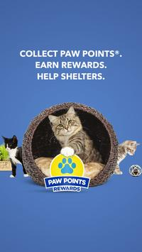 Paw Points® Rewards by Fresh Step® Litter poster
