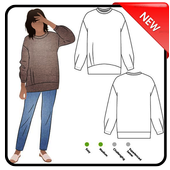 Clothes Sewing Patterns icon