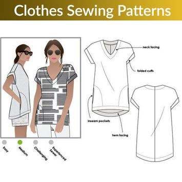 Clothes Sewing Patterns poster