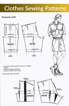 Clothes Sewing Patterns screenshot 1