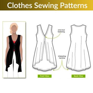 Clothes Sewing Patterns screenshot 2