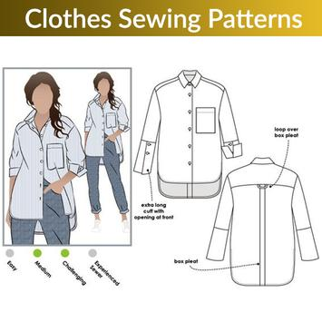 Clothes Sewing Patterns screenshot 4