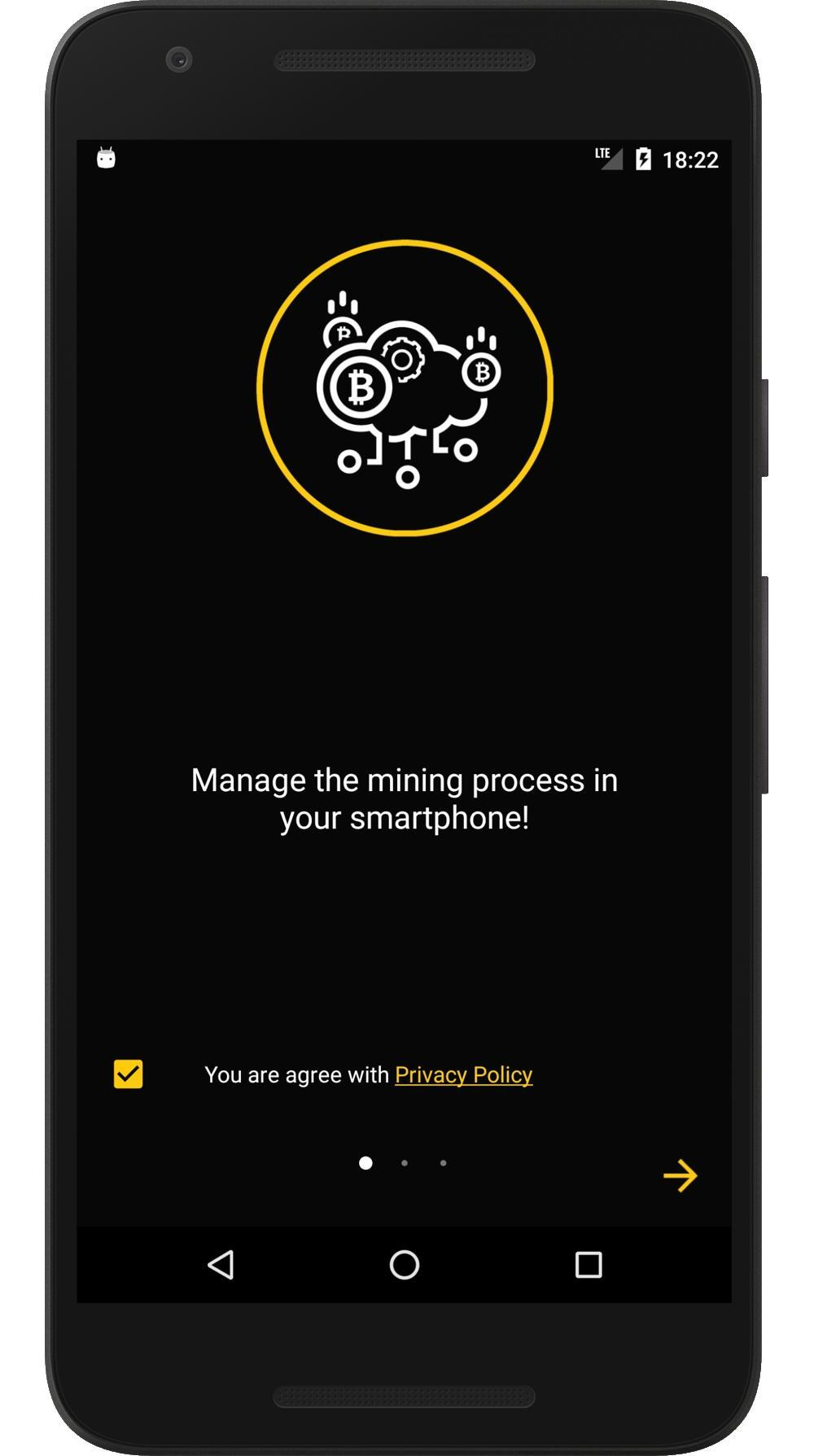 hack smartphone to mine cryptocurrency