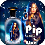 PIP Camera Photo Blur icon