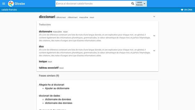 Francès-Català Diccionari screenshot 6