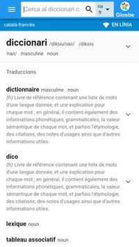 Francès-Català Diccionari poster