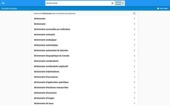 Français-Français Dictionnaire screenshot 4