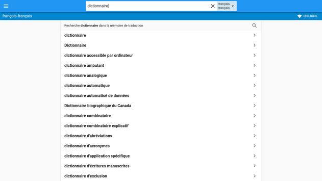 Français-Français Dictionnaire screenshot 7