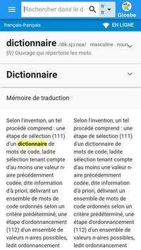 Français-Français Dictionnaire poster