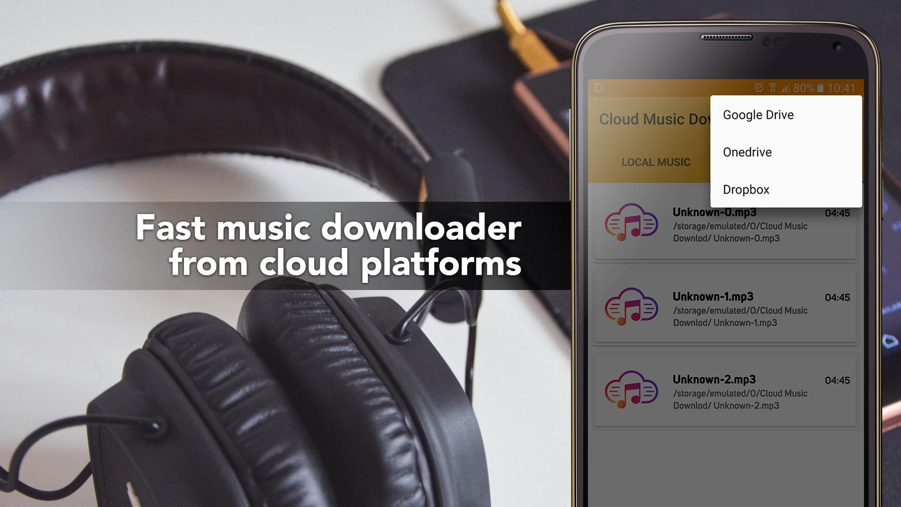 Free Music Download from Cloud Services Offline for Android - APK