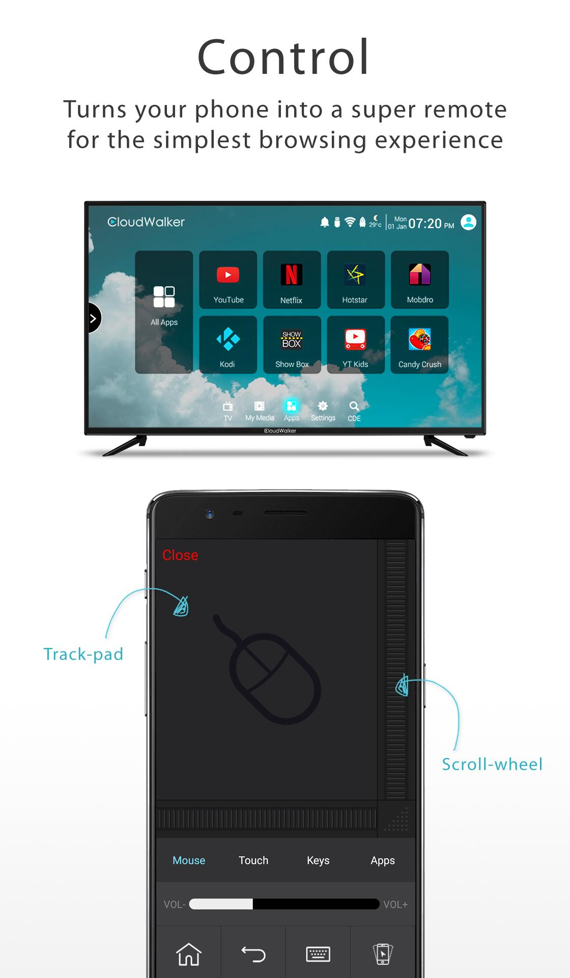 CShare (CloudTV Remote) for Android - APK Download