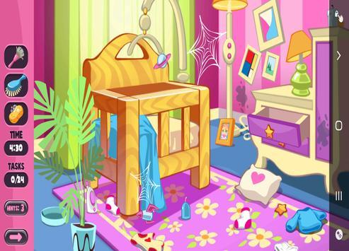 Game cleaning girl clean house screenshot 1