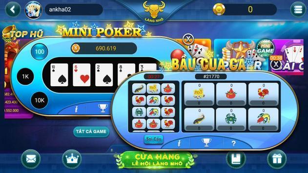 Game đánh bài dân gian LÀNG NHÔ screenshot 4