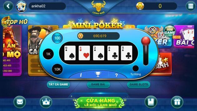 Game đánh bài dân gian LÀNG NHÔ screenshot 6