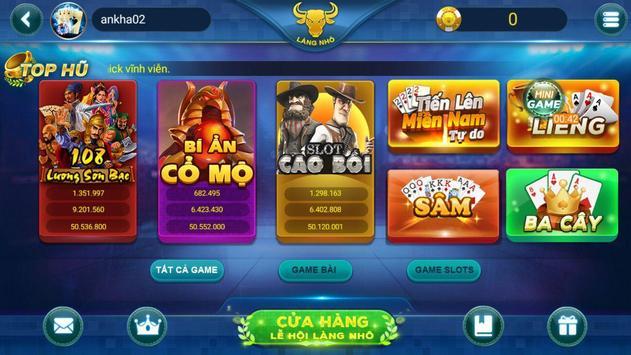 Game đánh bài dân gian LÀNG NHÔ screenshot 8