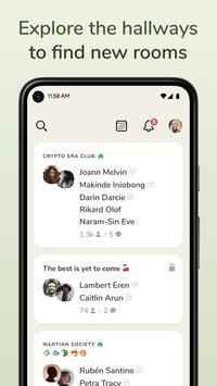 Clubhouse screenshot 1