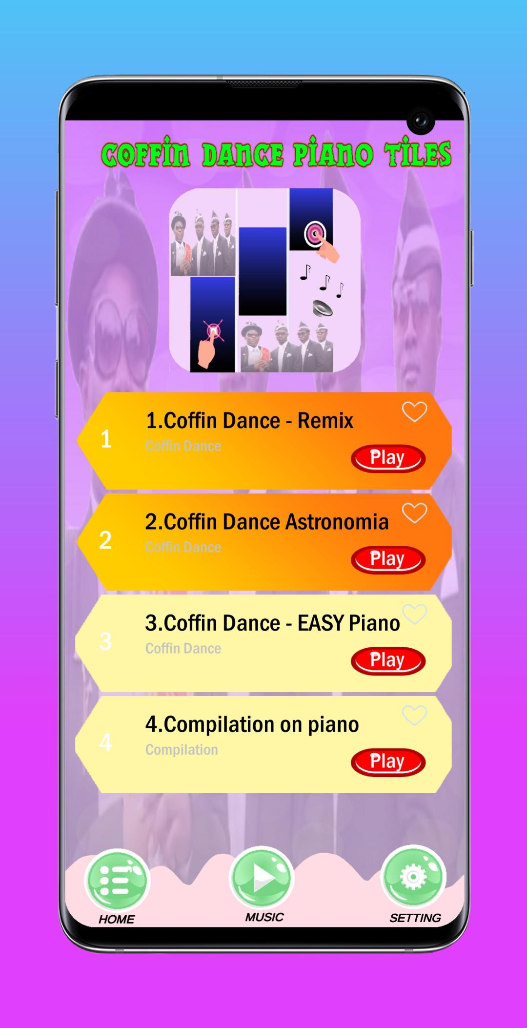 Coffin Dance Piano Tiles For Android Apk Download