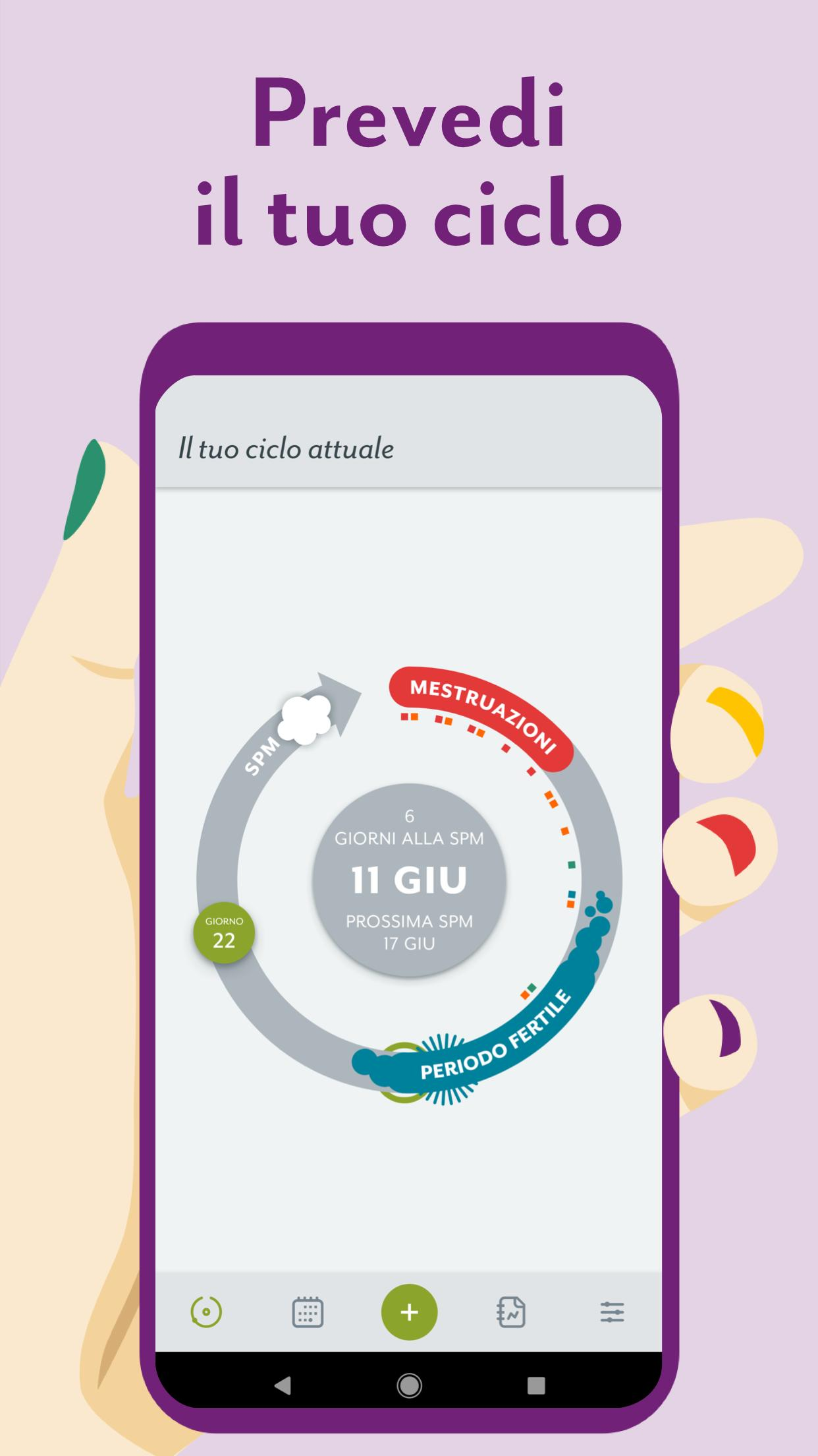 Calendario Di Ovulazione.Calendario Mestruale Clue Ovulazione E Ciclo For Android