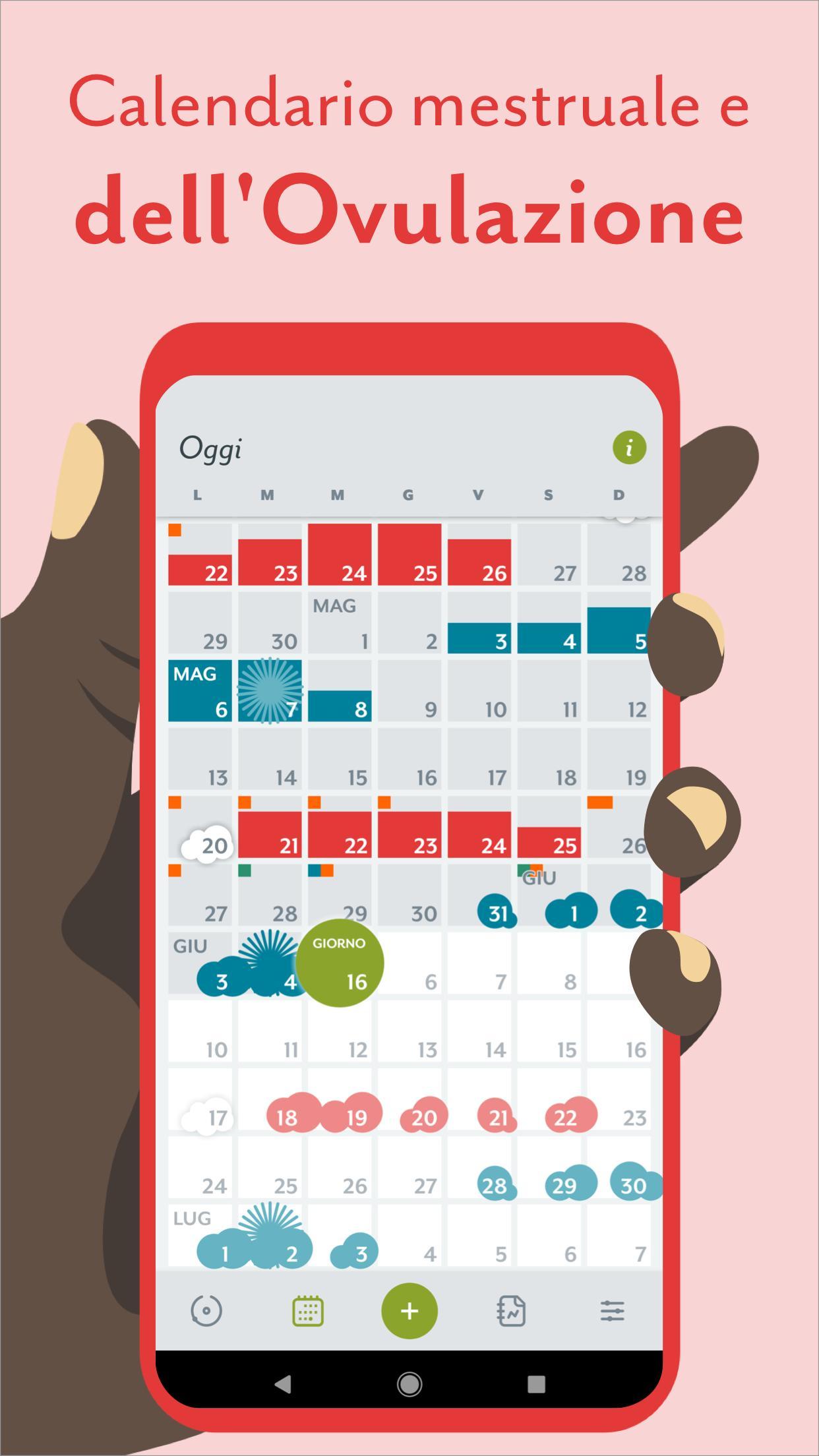 Il Mio Calendario Del Ciclo.Calendario Mestruale Clue Ovulazione E Ciclo For Android