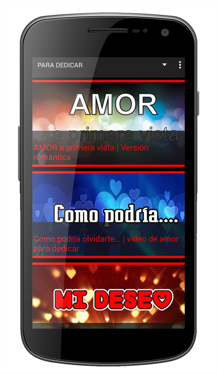 Videos De Amor Con Frases De Amor Para Descargar For Android