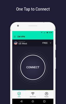 CM Security Open VPN - Free, fast unlimited proxy screenshot 2