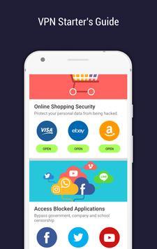 CM Security Open VPN - Free, fast unlimited proxy screenshot 7