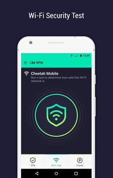 CM Security Open VPN - Free, fast unlimited proxy screenshot 4