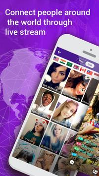 Live.me - Chat &Friends Nearby Plakat