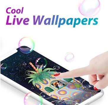 C launcher:DIY themes,hide apps,wallpapers,2020 screenshot 3