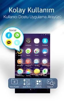 C Launcher: Tema, Duvar Kağıdı Ekran Görüntüsü 3